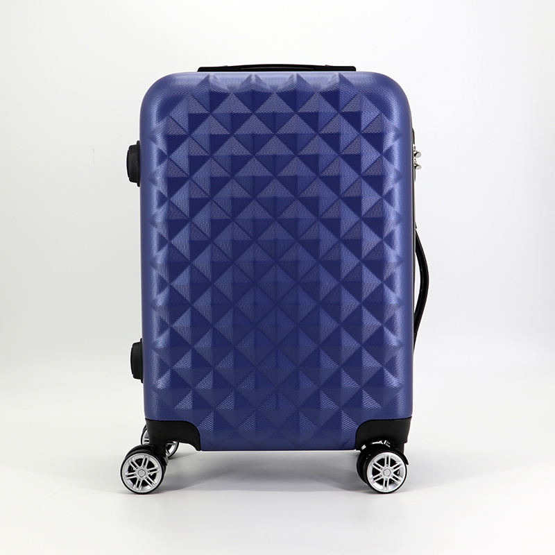 New blue Abs 360 degree trolley travel suitcase sets luggage