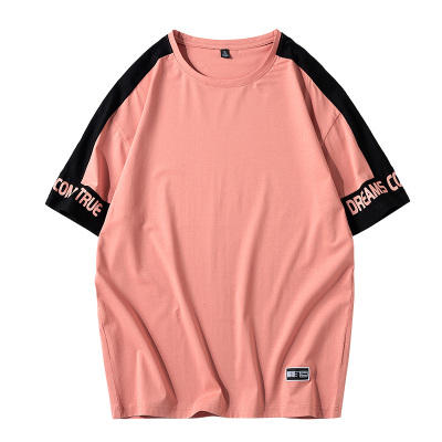 Streetwear T-shirt Couleur Tshirt Assorti Impression Col rond T-shirts Pour <span class=keywords><strong>Hommes</strong></span> <span class=keywords><strong>Vêtements</strong></span> Pour <span class=keywords><strong>Hommes</strong></span>