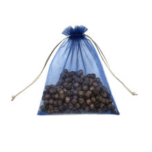 Nice Printed Drawstring Gift Bags Organza Pouch For Wholesale