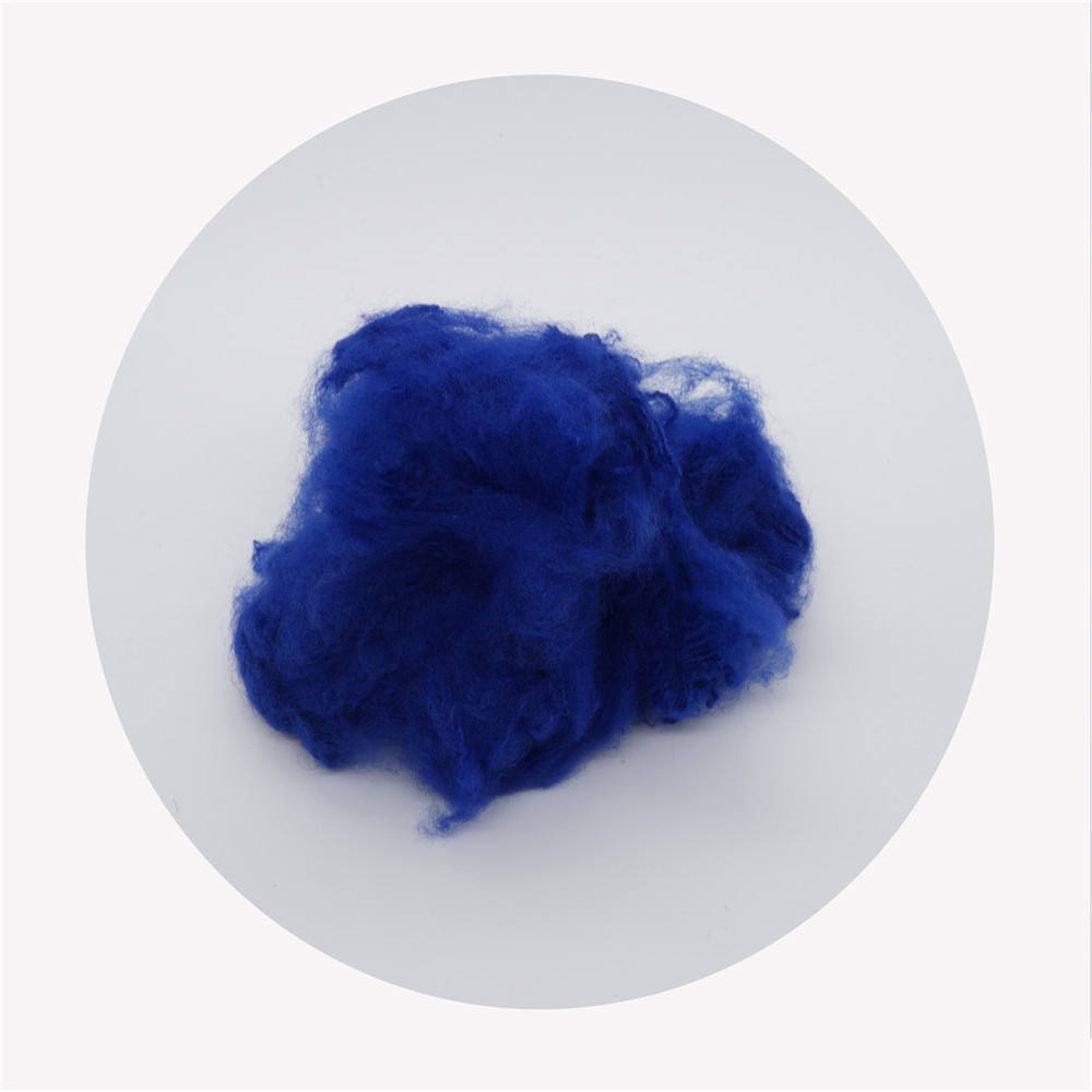 recycled colored polyester staple fiber manufacturer