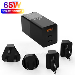 KC Sertifikasi Multi Port USB Charger Pobile Telepon Wall Charge untuk iPhone MacBook Proortable PD USB Charger QC3.0 M