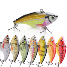 7cm 18g Factory New Design Plastic Fishing Lures Artificial Hard Bait