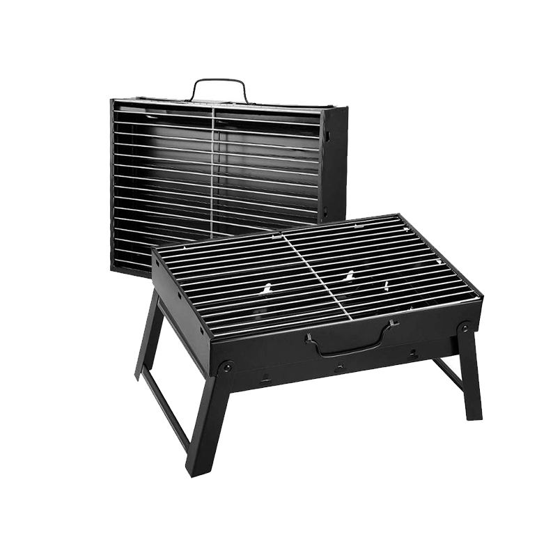 Wholesale Garden Portable Smokeless BBQ Charcoal Grill Folding Charcoal Barbecue Grill Machine