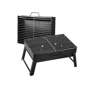 Wholesale garden Portable smokeless BBQ charcoal grill foldable barbecue grill machine