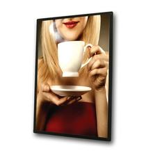 indoor mall acrylic magnetic design led light box sales