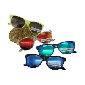 2020 New Arrivals Hot Sale Custom Color Kids Toy Glasses Plastic Sunglasses Outdoor Kids Sun Glasses