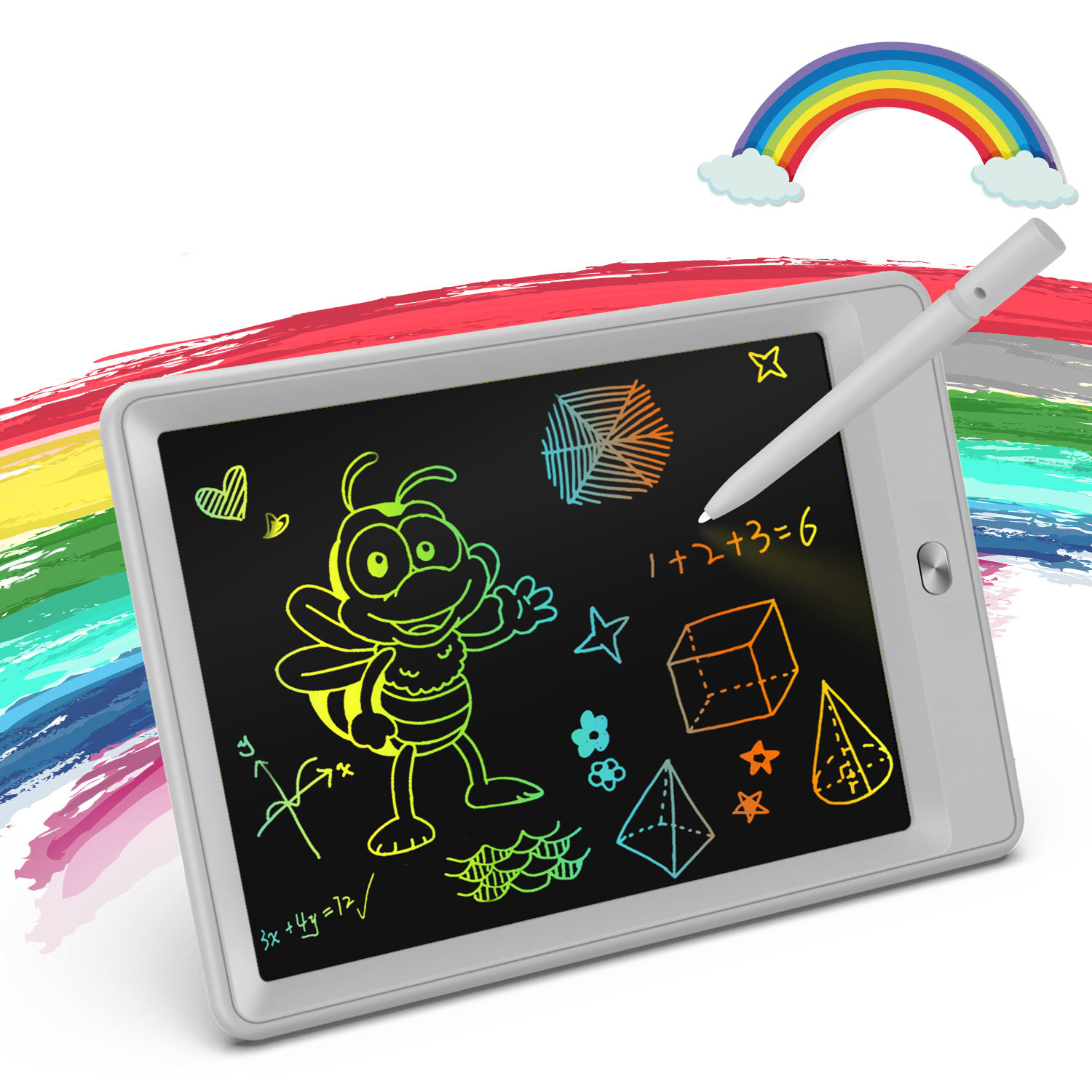 Tekfun professional digital handwriting note board erasable drawing pad doodle tablero de escritura LCD writing tablet