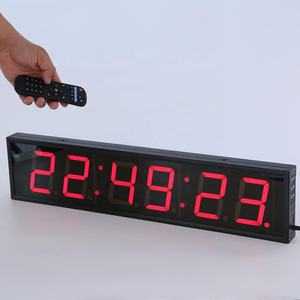 Paling Populer Remote LED Countdown Timer/Remote Control LED Digital Jam Dinding