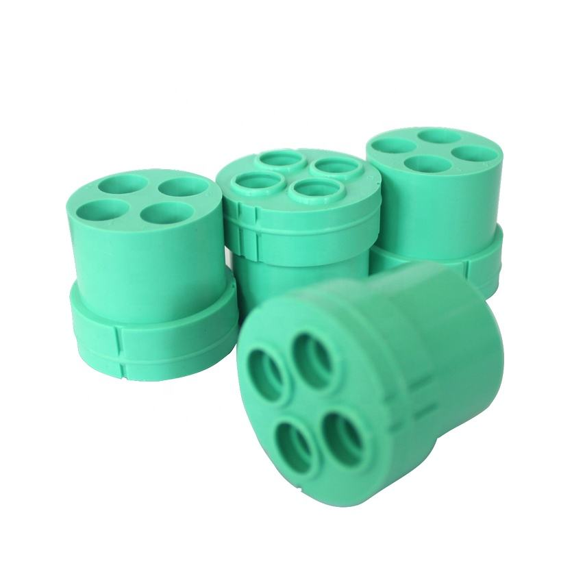Newest Design Rubber OEM Porous Connector Durable Connector te Connectivity Silicone Line Tap Connectors for Sale