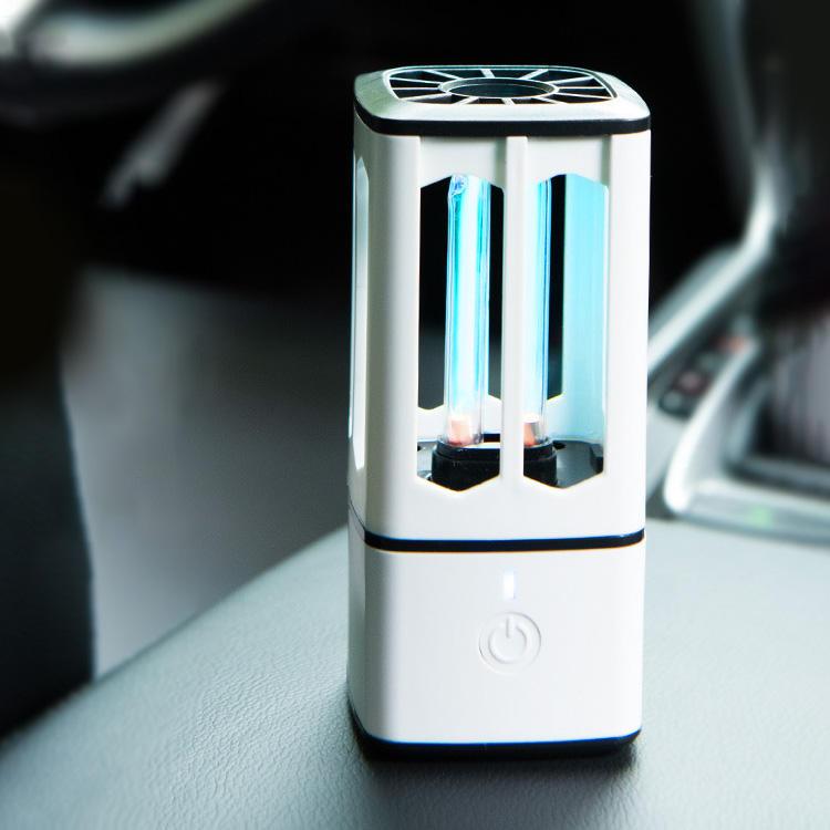 USB recargable luz ultravioleta limpieza de aire usb pequeño mini coche esterilización portátil germicida lámpara led <span class=keywords><strong>uv</strong></span>