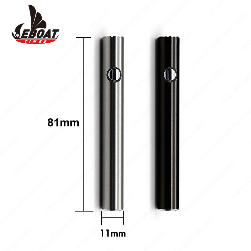 2020 US market max 380mah preheating vape battery for cbd oil cartridge