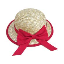 Little Girl Summer Beach Sun Protection Wheat Straw Baby Sun Hat