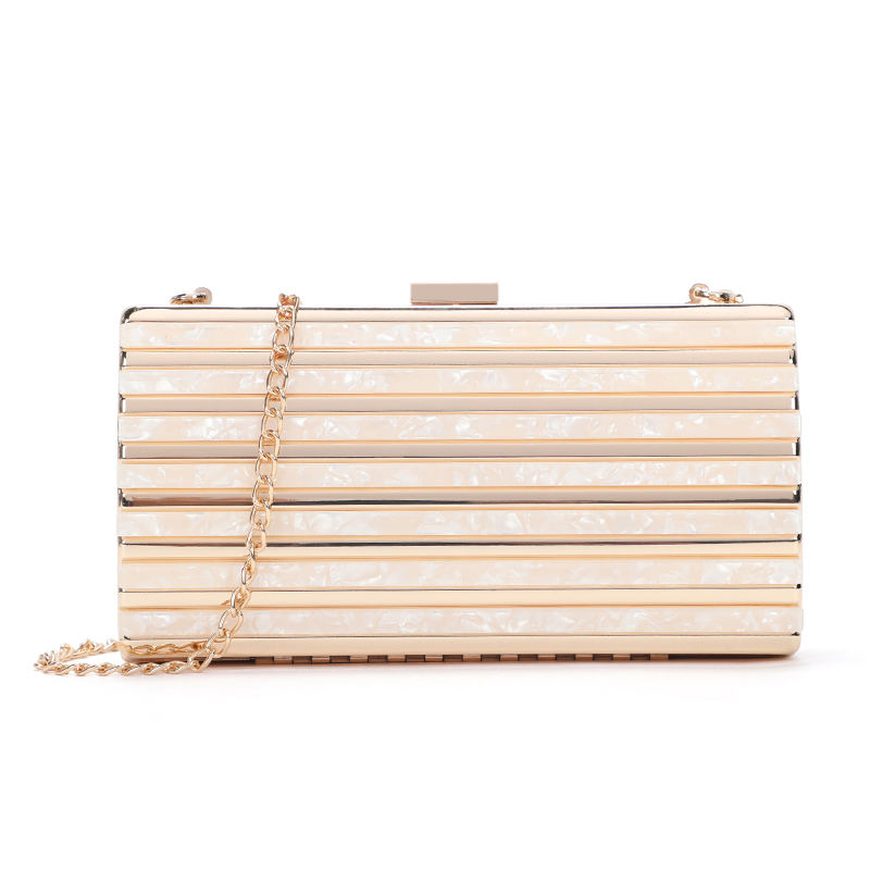 New lady fashion evening clutch bags shoulder bag Evening Bag wholesale clear handbags factory price in china MOQ2