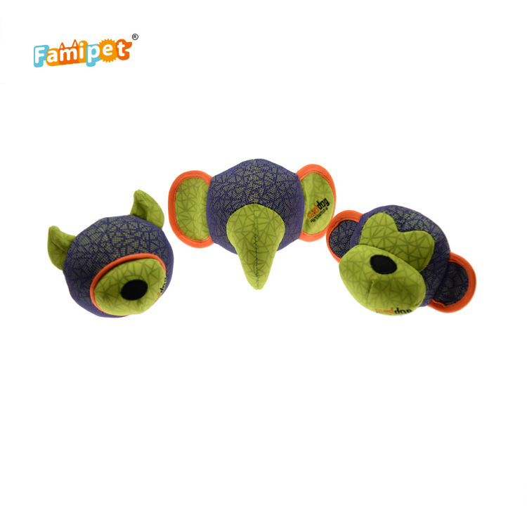 Wholesale Manufacturer Durable Plush Interactive Ball Toy Set Pet Dog Chew Toys