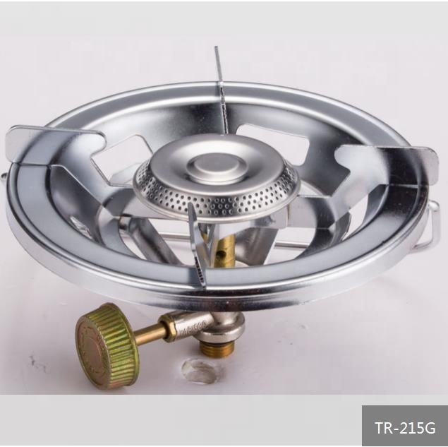 China Factory Export Cooking Appliances good quality camping gas burner, portable single burner camping LPG gas stove