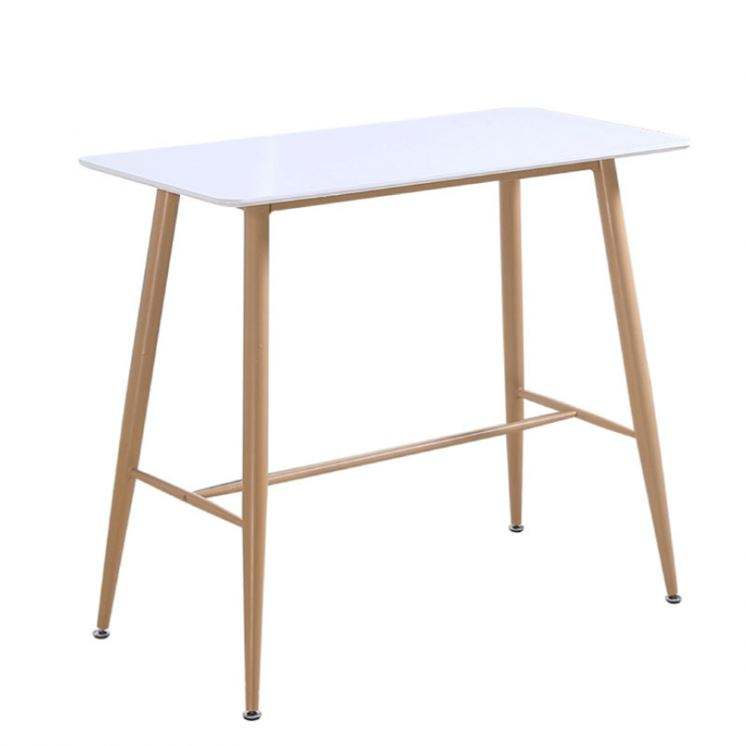 Wholesale Cheap Price Modern Custom White table MDF Top Rectangle table top dinner table