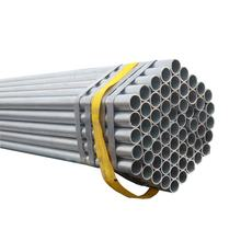 ASTM A53 Hot Dip Galvanized Round Steel Pipe Pre-Galvanized Steel Pipe For Construction