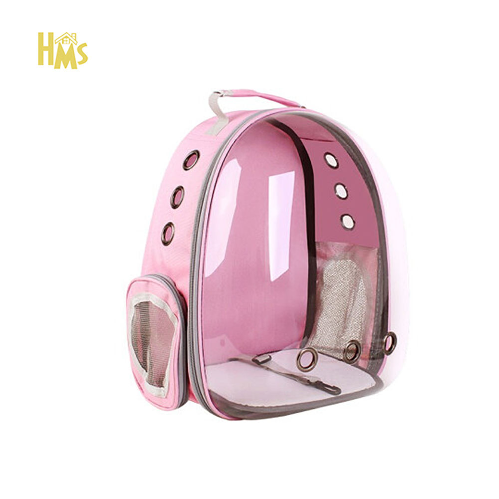 HMS Wholesale High Quality Custom Foladable Cat Dog Pet Carrier Backpack