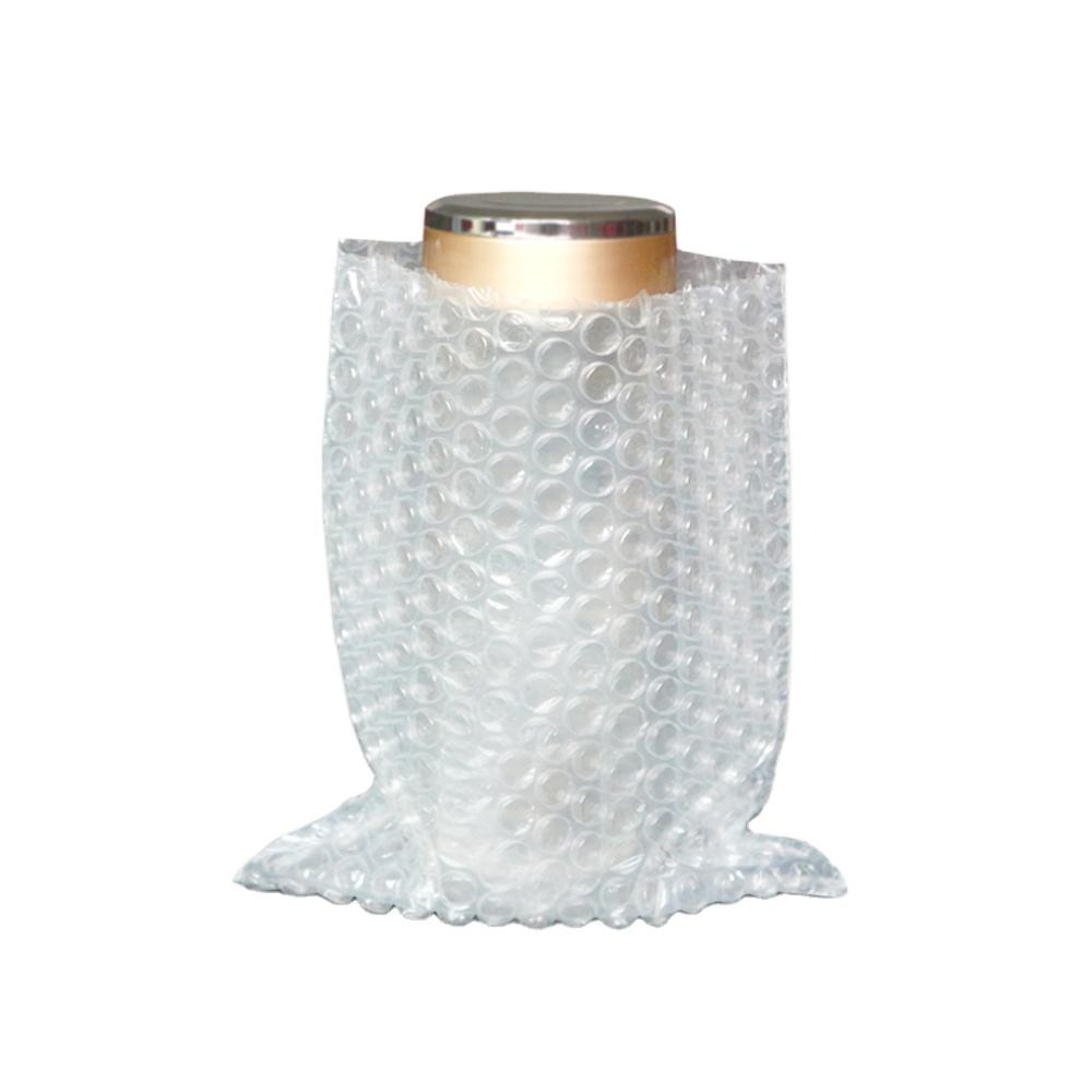 Opblaasbare Bubble Tas Bubble Air Film Met Transparant Stand Up Pouch Ldpe Offsetdruk Mailing Schokbestendigheid Accepteren