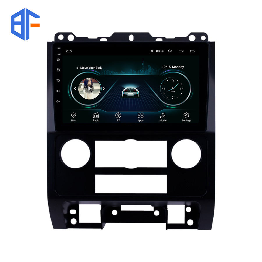Voor Ford Escape 2007-<span class=keywords><strong>2012</strong></span> Android 9.0 Auto Radio Stereo Gps Navigatie Multimedia Speler Autoradio Bt