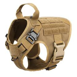 New Design Adjustable Nylon K9 Tactical Military Service Dog Harness