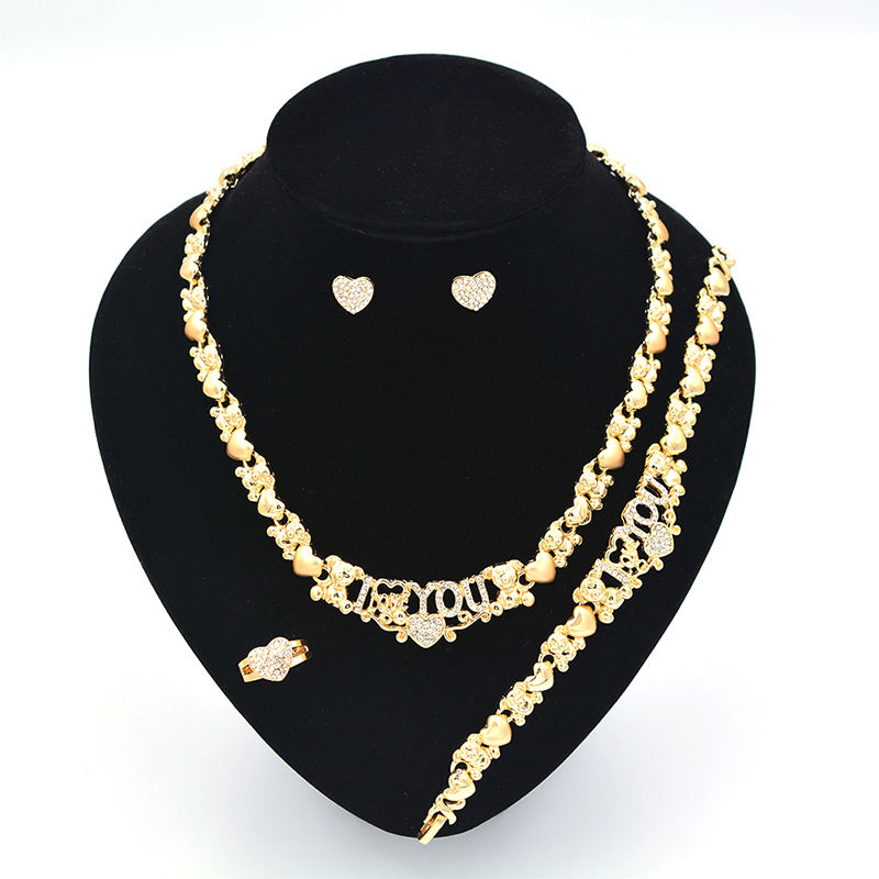 Fashion Women jewelry set necklace xoxo jewelry african jewelry sets