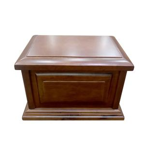 Beautiful designer handmade wooden cremation funeral urns for burial