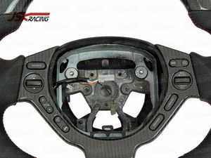 2008-2015 CBA DBA CARBON FIBER INTERIOR STEERING WHEEL FOR NISSAN GTR R35