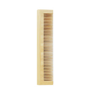 Wholesale reuse and multifunction hotel amenities set nature wax wooden beard hair bamboo comb