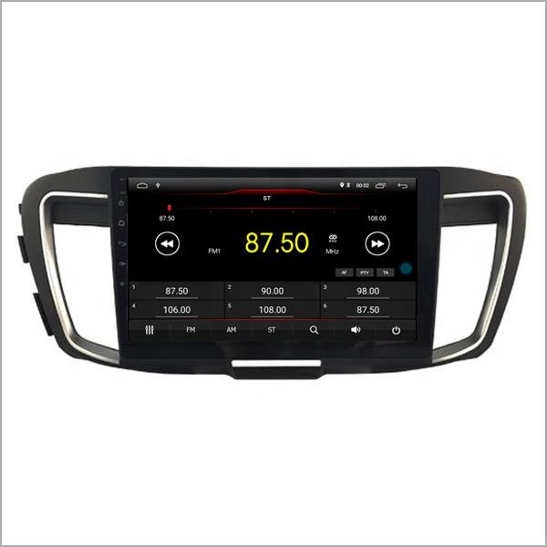 Newnavi android 10 Car Radio Touch Screen Player Car DVD with USB/FM/AM/CAMERA/WIFI 10.2 inch car gps for Honda Accord 9