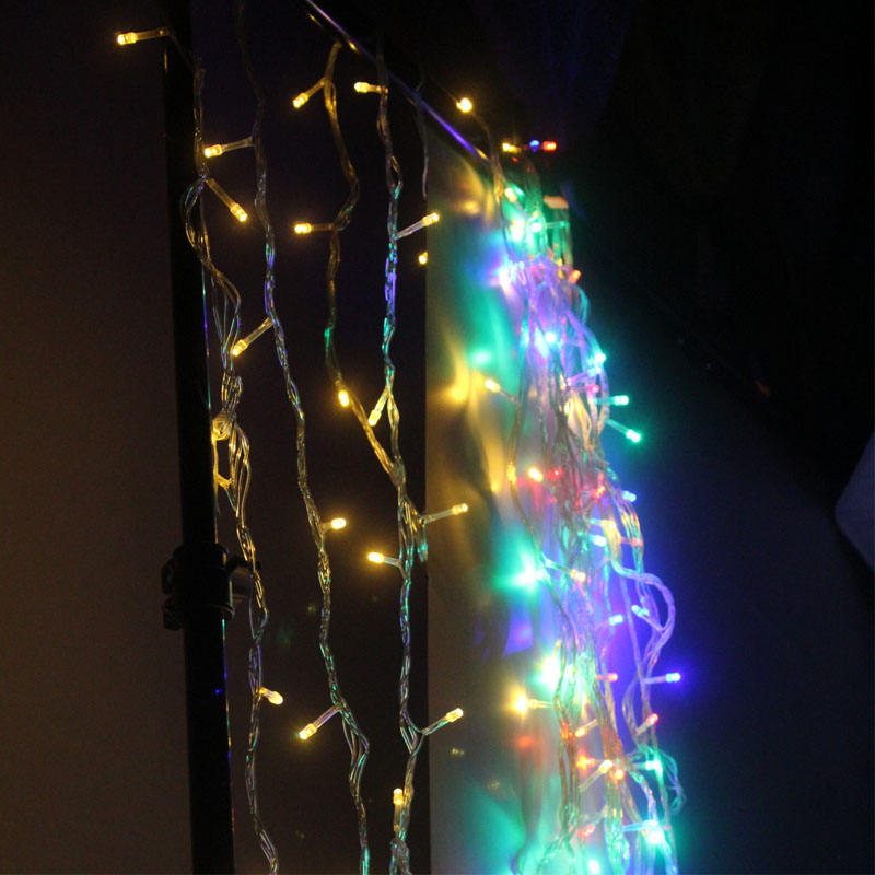 Customized Christmas Lights Outdoor, multiple-color Gift Lighting, Home diwali decorative Lights Curtain LED Light Strip
