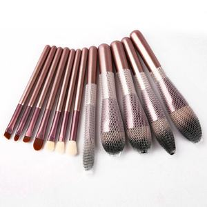 Superior Quality 12 Pcs Cosmetic Set Private Label Brush Makeup Logo