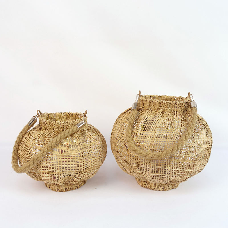 Natural Color Willow Discount Decorative Lanterns
