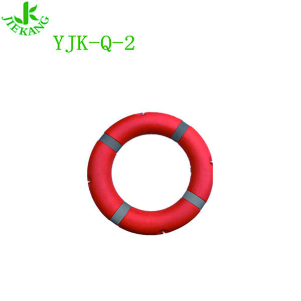 YJK-Q-2 Wholesale High Quality Foam Plastic Swimming Pool Life Ring Buoy For Marine Lifesaver