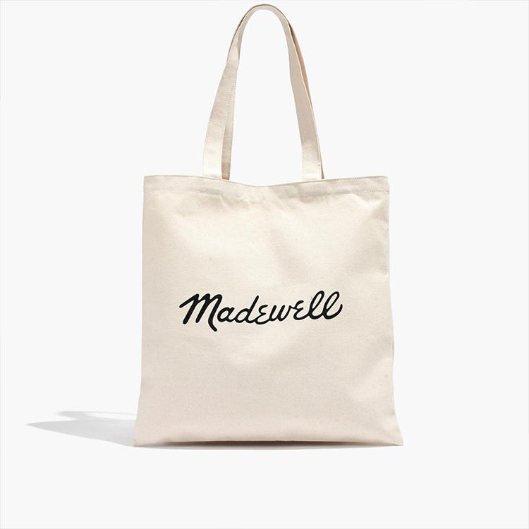 Custom Promotional Printed Cotton Canvas Shopping Tote Bag Organic Reusable Canvas Tote Bag