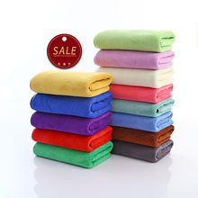 Wholesale best quality microfiber Navy Blue Mini Child Hand Towels