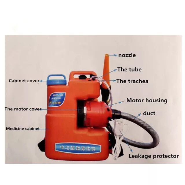 CE Approved Factory Price Portable Electrical Fogger Machine Sprayer Used in Home