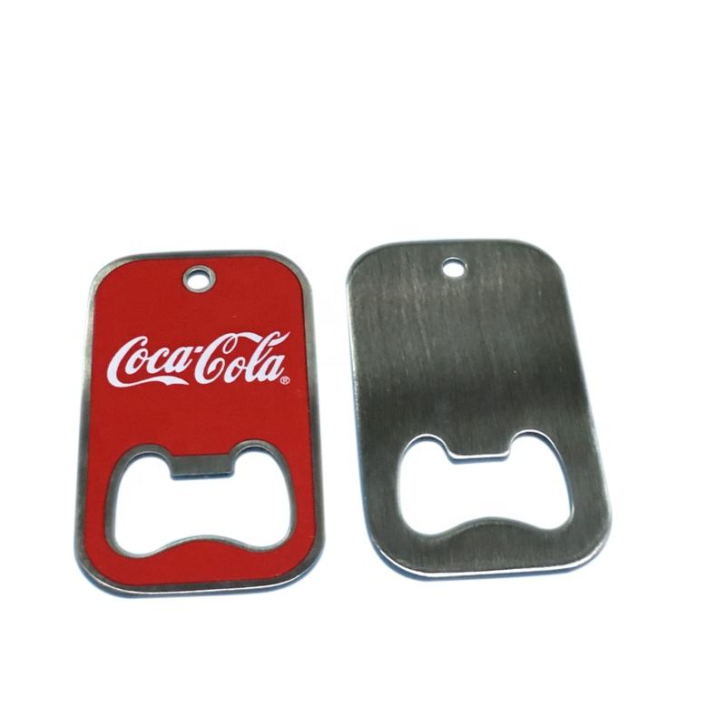 Logo Customizable Metal Beer Bottle Opener Creative Multi-shaped Magnet Fridge Magnet Suit For Souvenir gift