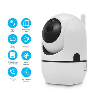 Smart Security Camera System Ip Cam Met 24/7 Emergency Response,360 Ogen App Voor Nanny Monitor