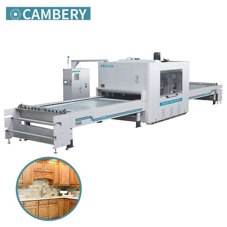 High quality vacuum press machine thermoforming machine wood panel PVC 3D laminating membrane press machine