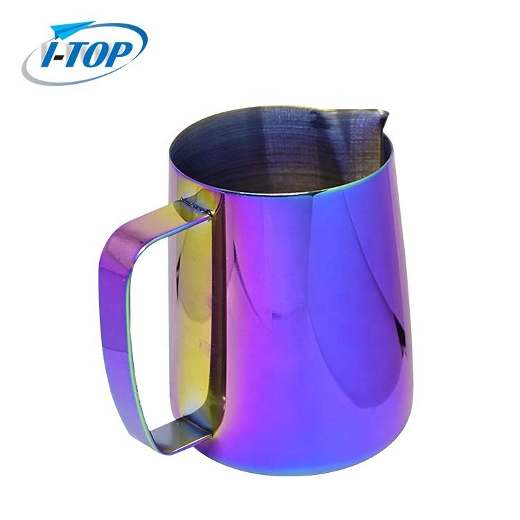 Factory new product stainless steel Milk Frothing Pitcher with scale