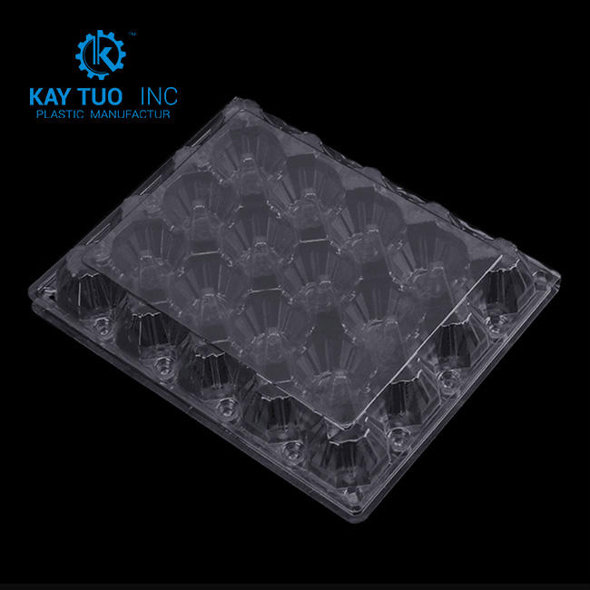 customized wholesale blister plastic packaging for quail eggs plastic Egg tray