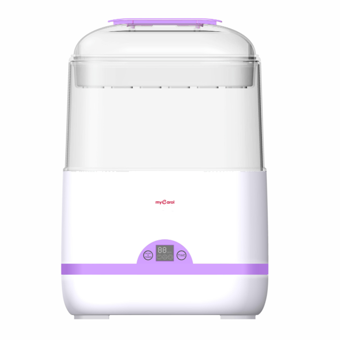 LCD Display Touch Control Drying & Timing Function Automatic Steam Baby Bottle Sterilizer