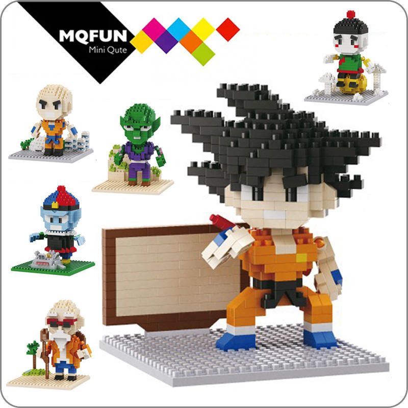 Balody Anime Japanese cartoon Dragon figure Super Heroes 3D assembly models Action Figures Building Block Bricks Educational Toy