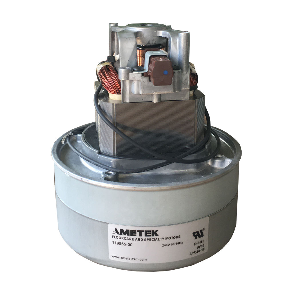 Ametek Motor for Industrial Vacuum Cleaner 119625-00 Motor