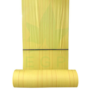 EGP jumbo bag fibc fabric roll 100% new material tubular polypropylene fabric pp woven roll