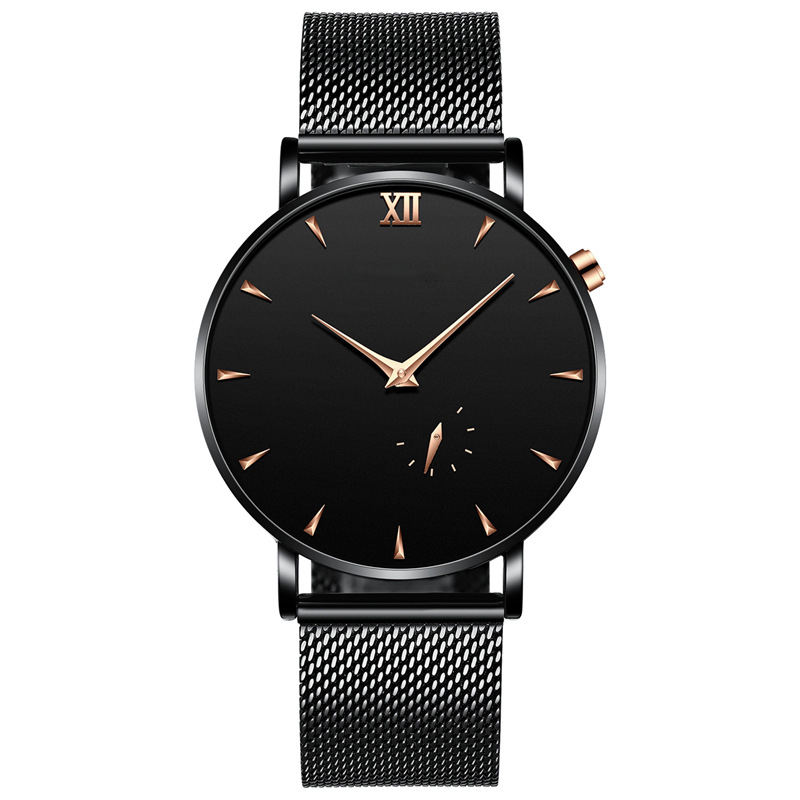 Merk horloges Heren Horloge Waterbestendig Functie Simple Style Rose Gold Minimalisme Horloges