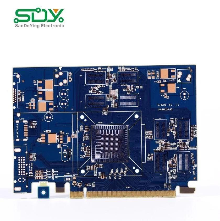 China PCB Supplier Shenzhen Circuit Board Customized Rigid PCB