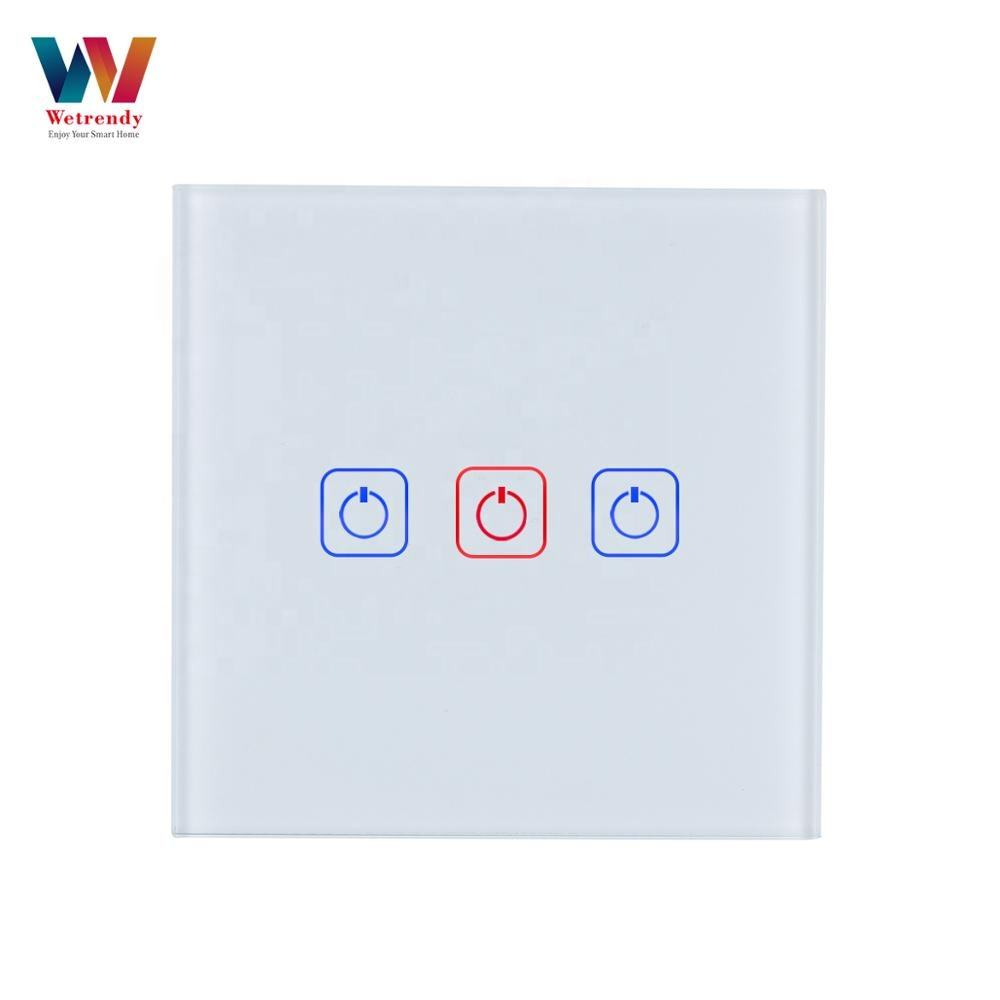 Smart Alexa Switch Wifi Tuya Smart Home Automation 3 Gang Touch Switch kingart socany neo nanxin simatop smart light bulb