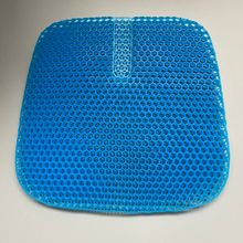 High Quality Coccyx Orthopedic Cooling Seat Cushion Egg Seat Gel Cushion Memory Gel Pad Cushion for Summer Hip Cool Feeling
